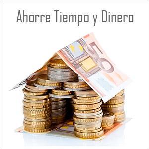 Ahorre tiempo y dinero